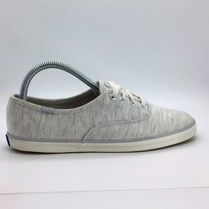Women's Keds cloth boat shoes